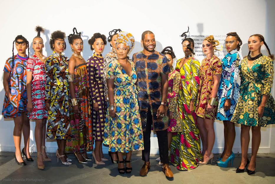 The 'Irun Kiko: Art of Hair' fashion presentation featuring photographer Juliana Kasumu and designer, Reuben Reuel.